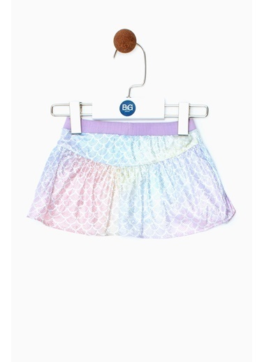 BG Baby Kız Bebek Desenli Etek 19SS0BG2301 Renkli